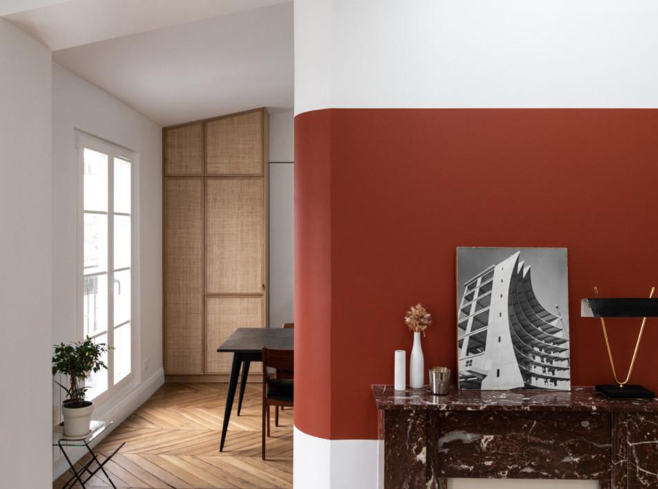 Мансарда в Париже по прооекту Boclaud Architecture