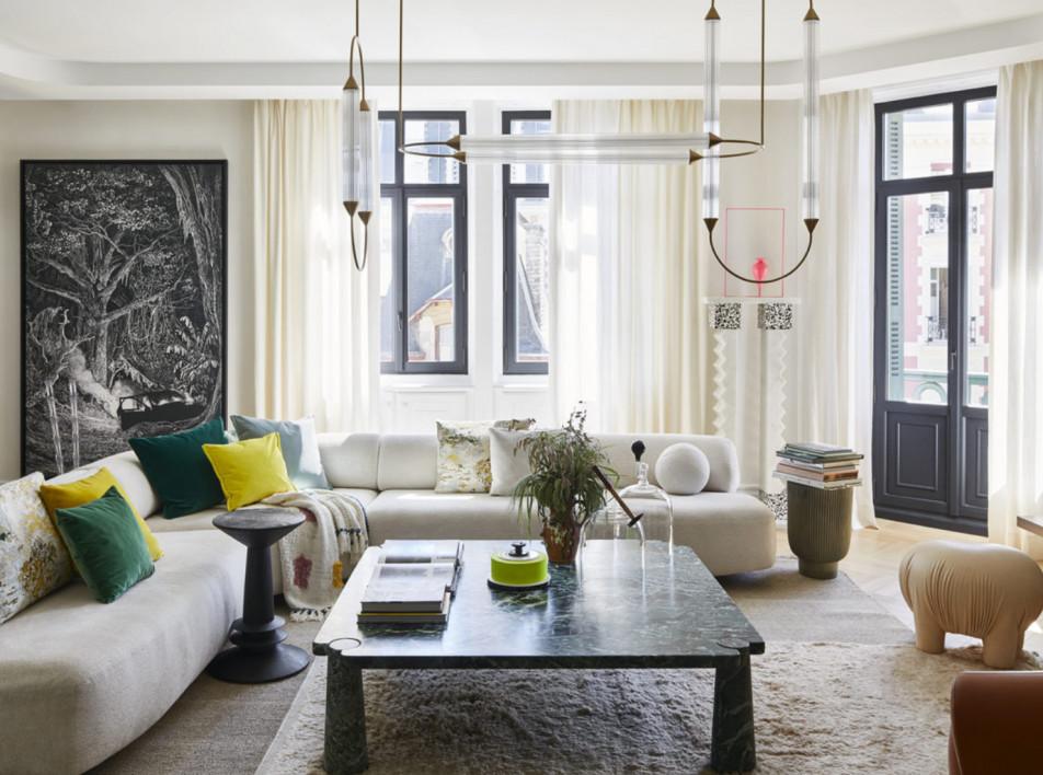 Клод Картье: квартира в Биаррице